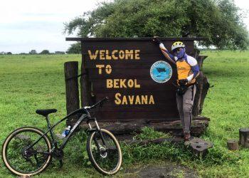 Project Director Gowesata Hendri Wijaya mengunjungi Taman Nasional Baluran